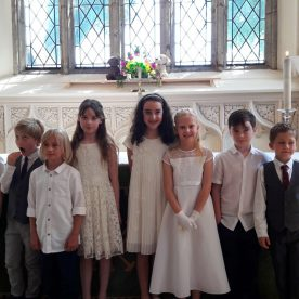 2 Baptisms, 8 First Communion and Pet Blessings