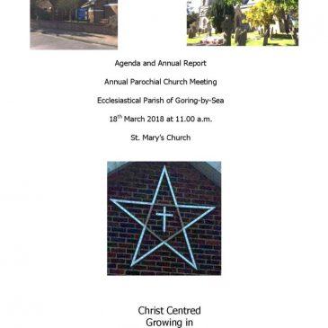 Annual Parochial Church Meeting